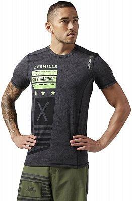 Pánské sportovní tričko Reebok Les Mills Bodycombat Tee