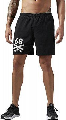Pánské sportovní kraťasy Reebok Les Mills 7 Inch Woven Short