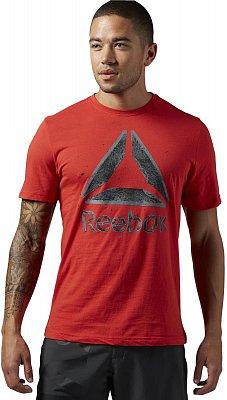 Pánské sportovní tričko Reebok Shattered Stacked Reebok Delta Tee