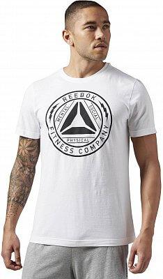 Pánské sportovní tričko Reebok Flocked Badge Tee
