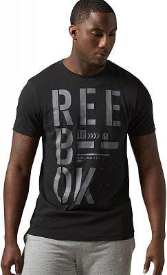 Pánské sportovní tričko Reebok Stencil Reebok Graphic Tee