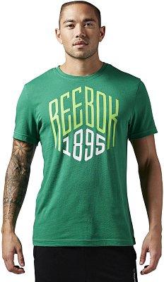 Pánské sportovní tričko Reebok 1895 Graphic Tee