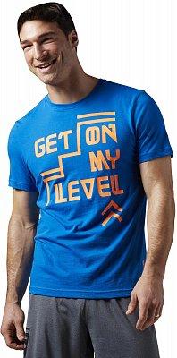 Pánské sportovní tričko Reebok Get on my Level Graphic Tee