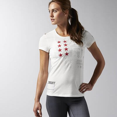 Reebok CF Performance Blend SS Tee Graphic
