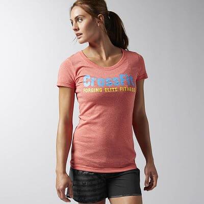 Dámské sportovní tričko Reebok CF Graphic Tee CF F.E.F