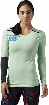 Dámské sportovní tričko Reebok ONE Series Quik Cotton Compression Long Sleev