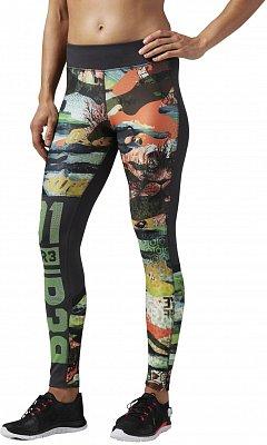 Dámské sportovní kalhoty Reebok ONE Series ActivChill Crazy Camo Tight