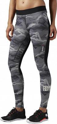 Dámské sportovní kalhoty Reebok ONE Series ActivChill Compression Camo Tight