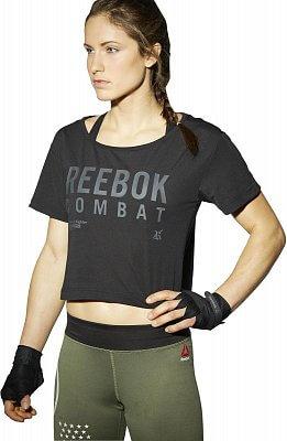 Dámské sportovní tričko Reebok Combat Crop Tee