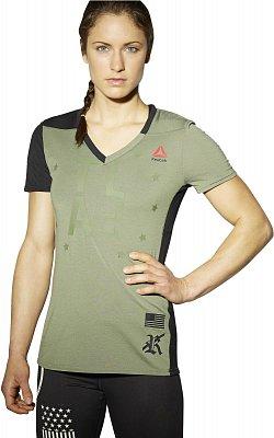 Dámské sportovní tričko Reebok TLAF Perf SS V 1A