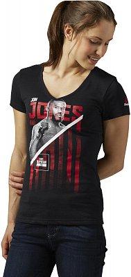 Dámské sportovní tričko Reebok Jones Fighter Tee