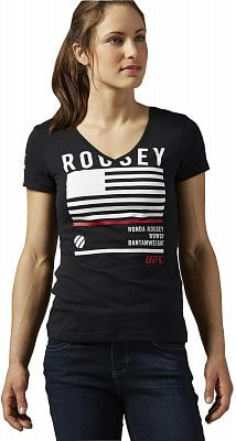 Dámské sportovní tričko Reebok Rousey Nickname Tee