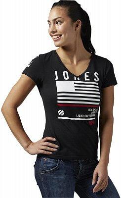 Dámské sportovní tričko Reebok Jones Nickname Tee