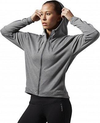 Dámská sportovní mikina Reebok Work Out Ready Zip Hood
