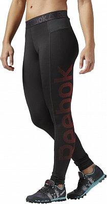 Dámské sportovní kalhoty Reebok Work Out Ready Tight Big Logo