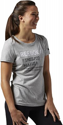 Dámské sportovní tričko Reebok Wor C Com Tee