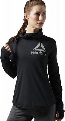 Dámská sportovní mikina Reebok ONE Series Graphic Bioknit Cowl Neck