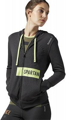 Dámská běžecká mikina Reebok Spartan Race Full Zip Hoody