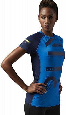 Dámské běžecké tričko Reebok ONE Series Running ActivChill Tee