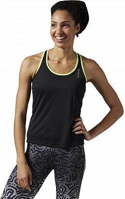Dámské běžecké tílko Reebok Running Essentials Long Bra Top