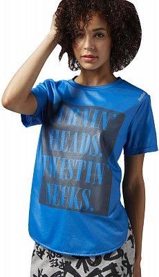 Dámské sportovní tričko Reebok Dance Cire Graphic Tee