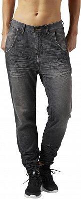 Dámské kalhoty Reebok Denim Pant Grey