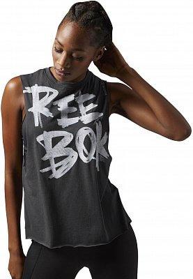 Dámské sportovní tričko Reebok Dance Reebok Muscle Tee