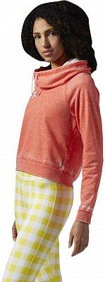 Dámská sportovní mikina Reebok Yoga Cowl Neck Cover Up