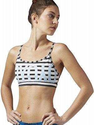 Dámská sportovní podprsenka Reebok Yoga Stripe Bra