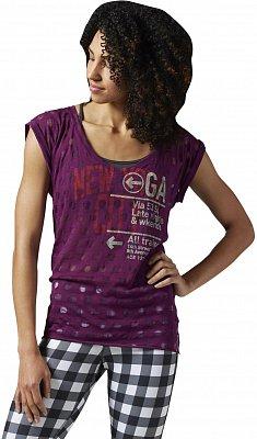 Dámské sportovní tričko Reebok Yoga New Yoga City Tee