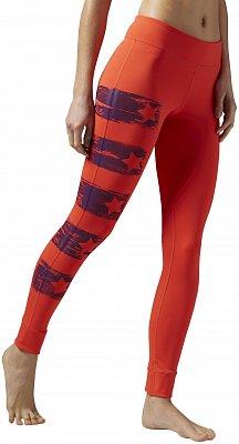 Dámské sportovní kalhoty Reebok Yoga Painted Tight