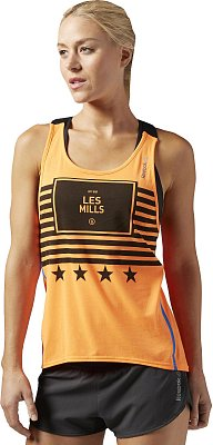 Dámské sportovní tílko Reebok Les Mills Cotton Tech Tank