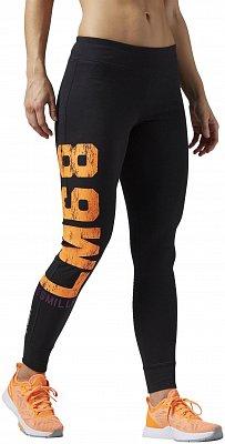 Dámské sportovní kalhoty Reebok Les Mills Graphic Tight