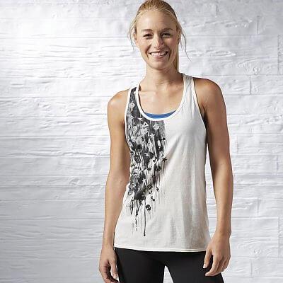 Dámské sportovní tílko Reebok Dripping Fitness Icons Fashion Tank