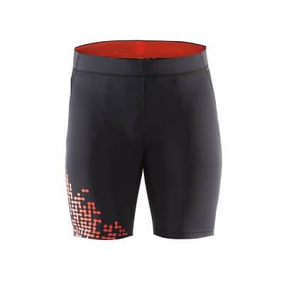 Kraťasy Craft Kalhoty Trail Fitness černá s oranžovou