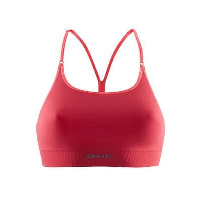 Spodní prádlo Craft Podprsenka Seamless Low červená