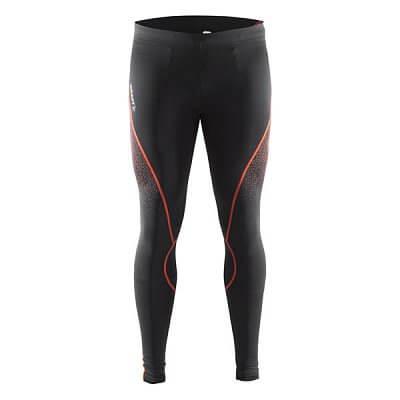 Kalhoty Craft Kalhoty Delta Compression Tights černá s oranžovou