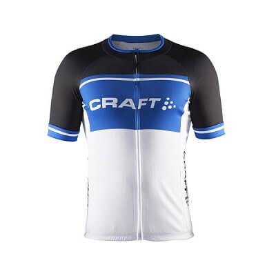 Trička Craft Cyklodres Classic Logo černá s modrou