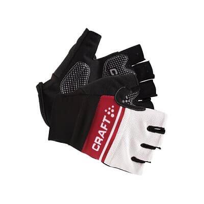 Craft Cyklorukavice Classic černá s červenou