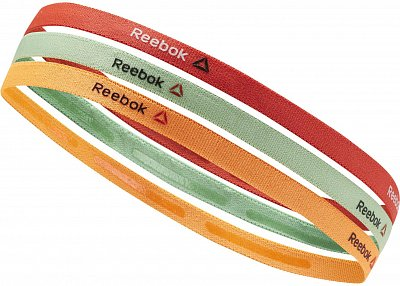 Čelenky Reebok One Series Training 3pack Thin Headband