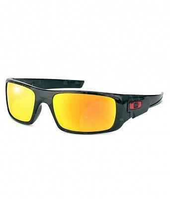 Sluneční brýle Oakley Crankshaft Shadow Camo w/ Fire Irid