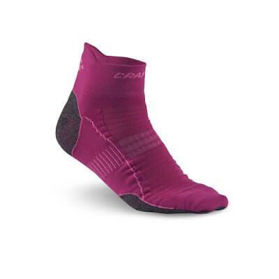 Ponožky Craft Ponožky Cool Run Ankle růžová