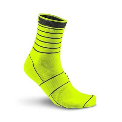 Ponožky Craft Ponožky Glow žlutá