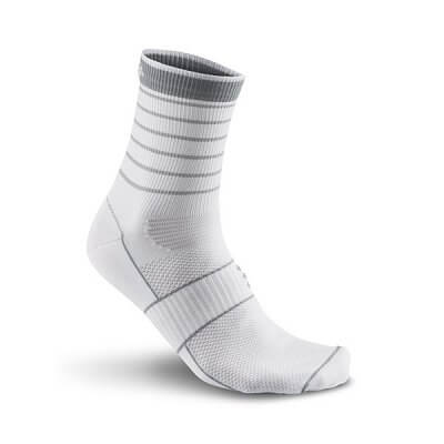Craft Ponožky Glow bílá