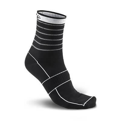 Ponožky Craft Ponožky Glow černá