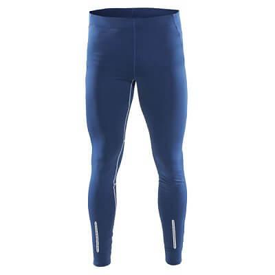 Kalhoty Craft Kalhoty Devotion Tights tm.modrá s potiskem