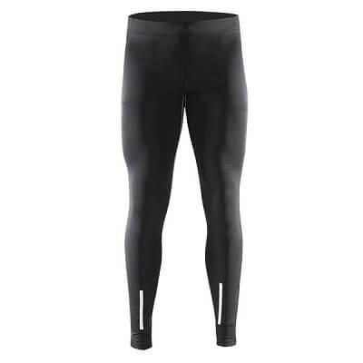 Kalhoty Craft Kalhoty Devotion Tights černá s potiskem
