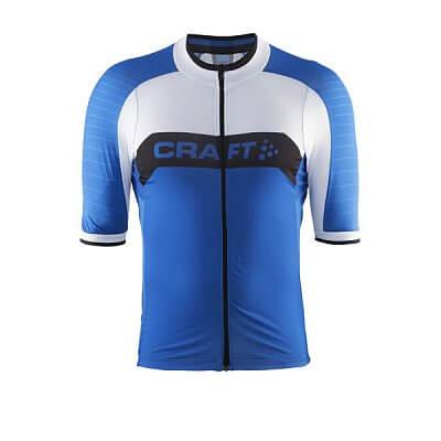 Trička Craft Cyklodres Gran Fondo modrá