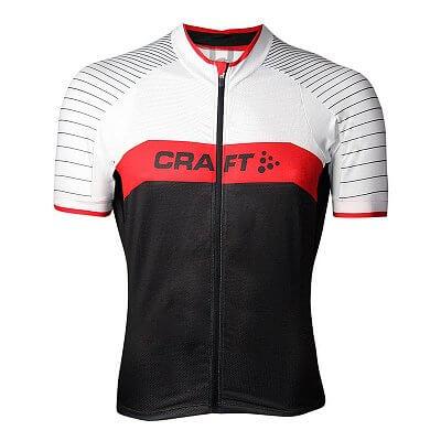 Trička Craft Cyklodres Gran Fondo černá s červenou