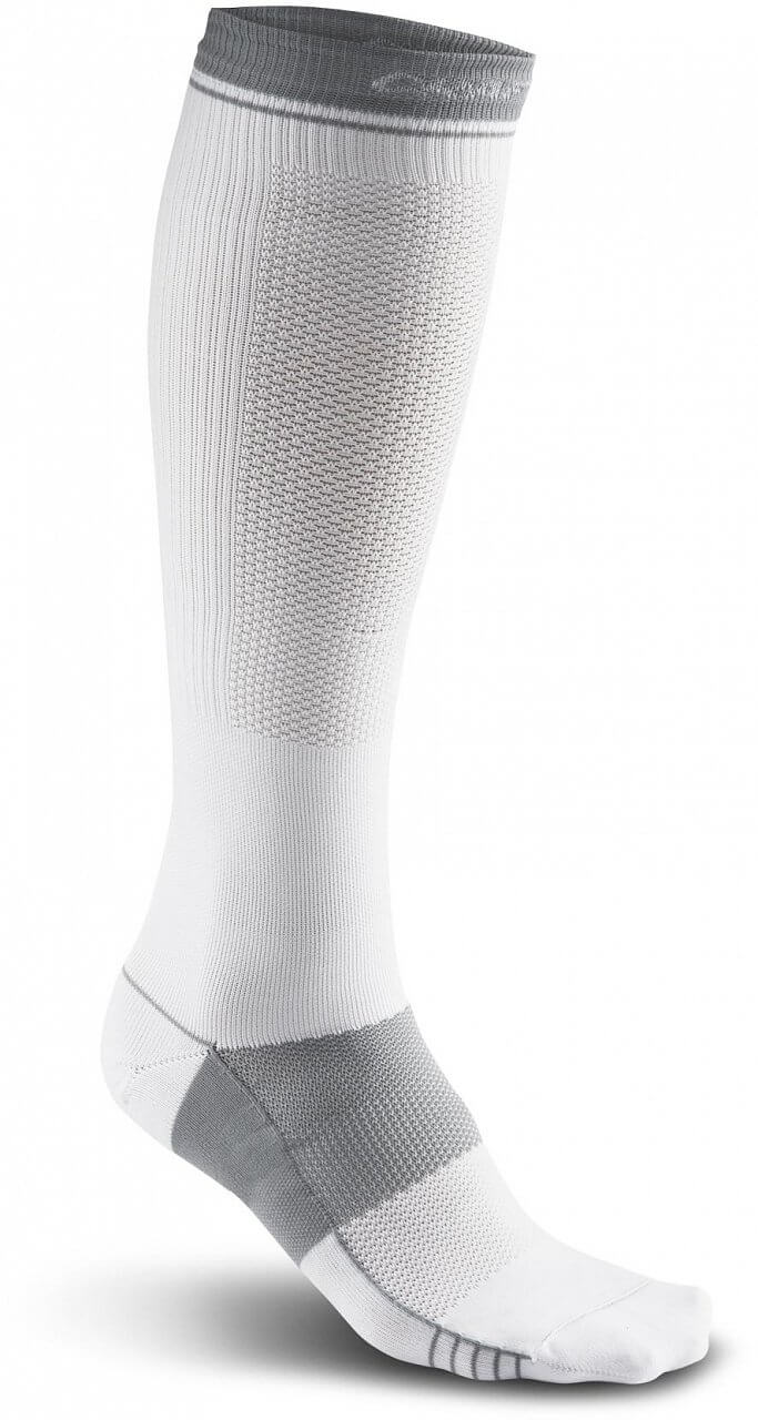 Ponožky Craft Podkolenky Body Control bílá